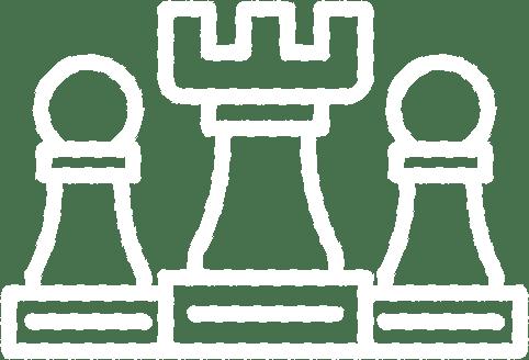 White Chess Icon