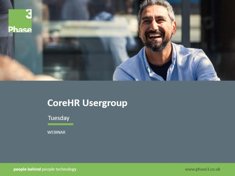 CoreHR user group
