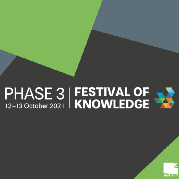 What's happening at this year's Phase 3 Festival of Knowledge? hero image